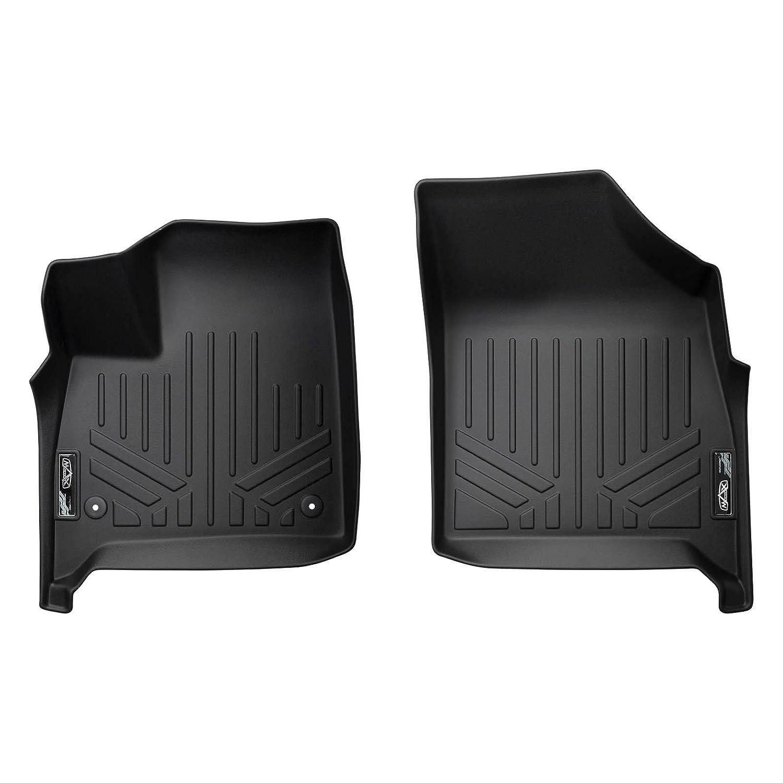 SMARTLINER Floor Mats 1st Row Liner Set Black for 2018-2019 Buick Enclave All Models