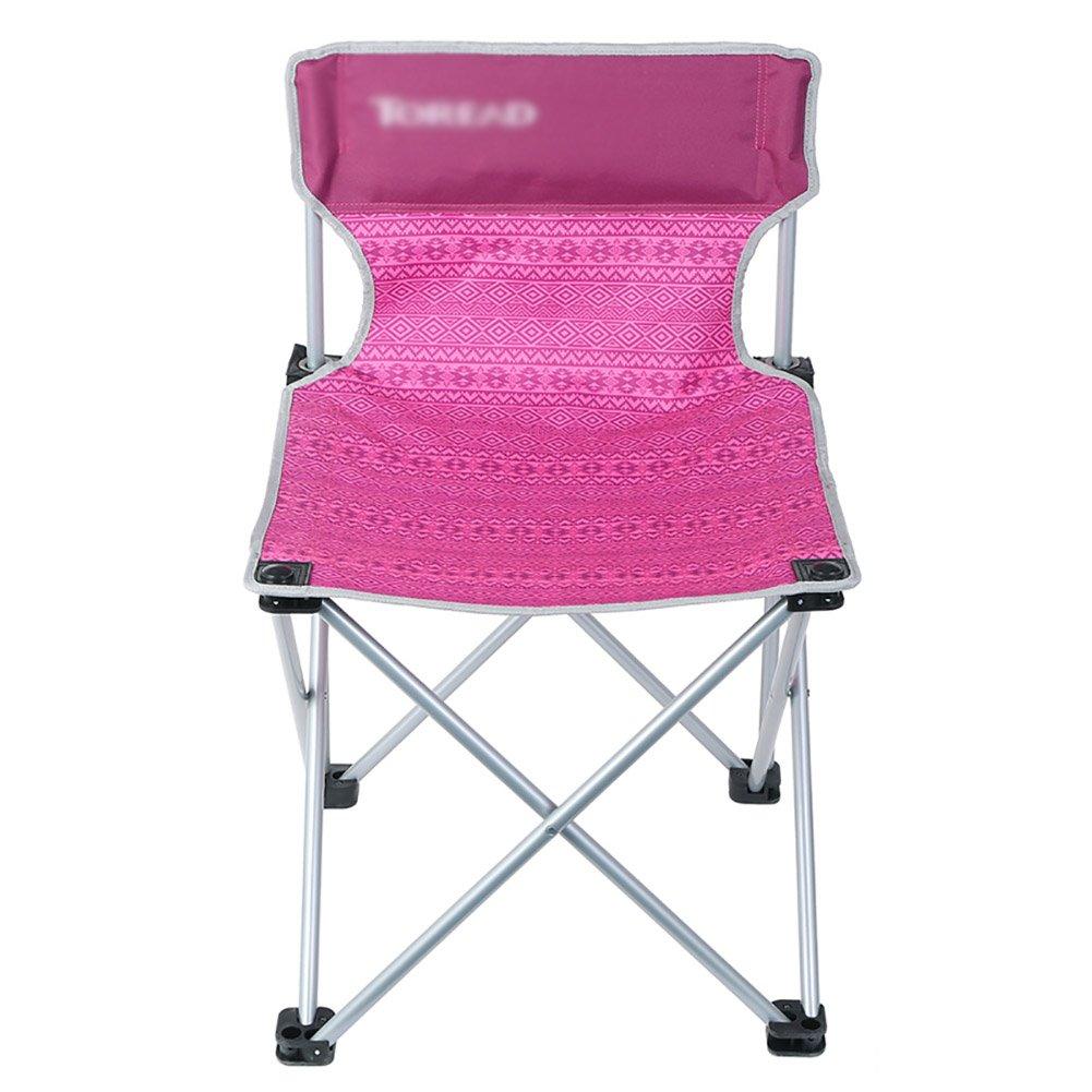 屋外折りたたみ椅子ポータブルビーチチェア屋外釣りチャイ (色 : パープル ぱ゜ぷる) B07DN2VP46 パープル ぱ゜ぷる パープル ぱ゜ぷる