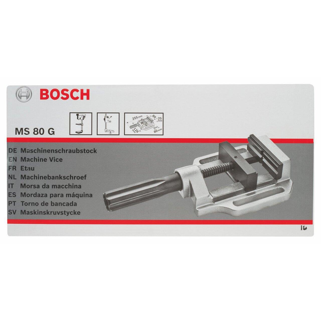 Bosch 2608030057 Etau professionnel port/Ã/©e d/Ã/©taiement 100 mm