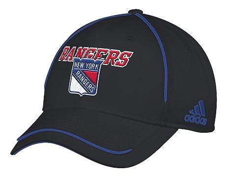 Amazon.com   adidas New York Rangers NHL Piping Fade Structured ... c309c3b5f35