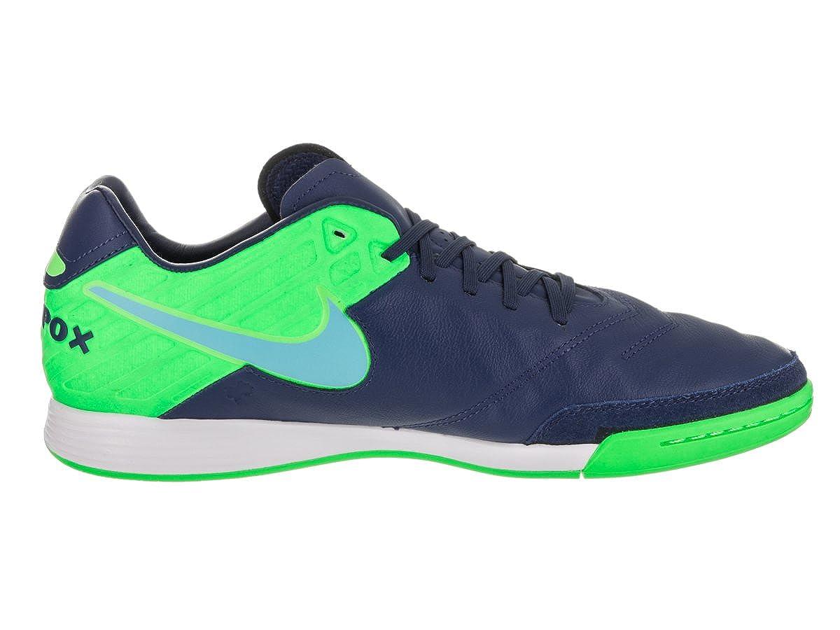 meet 6a924 cb939 Amazon.com   Nike Tiempox Mystic V IC Mens Soccer-Shoes 819222-443 12.5 - Coastal  Blue Polarized Blue-Rage Green   Soccer