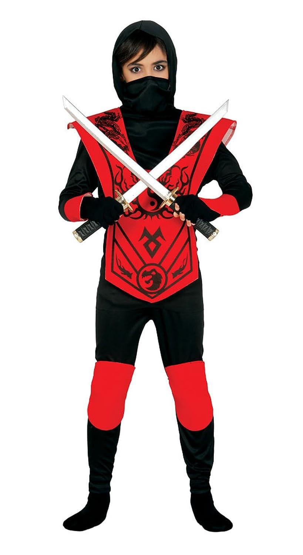 Guirca 83258 - Red Ninja Infantil Talla 7-9 Años