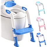 711TEK Potty Training Seat Toddler Toilet Seat with Step Stool Ladder,Potty Training Toilet for Kids Boys Girls Toddlers…