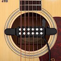 Dilwe 12 Agujero de Sonido Pastilla Magnética, Transductor para ...