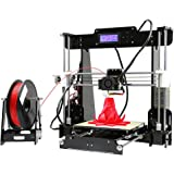 ANET A8 3D Drucker DIY Printer Desktop Farbdruck Printer Acryl LCD Bildschirm Kit Drucken Materialien 220x220x240 mm Druckraum 3D Drucker Printer with 1.75mm ABS/PLA