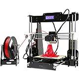ANET A8 3D Drucker DIY Printer Desktop Farbdruck Printer Acryl LCD Bildschirm Kit Drucken Materialien 220x220x240 mm Druckraum 3D Drucker Printer with 1.75mm ABS/PLA