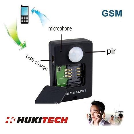 GSM Mobile Alarma con PIR Detector de movimiento y sensor de ...