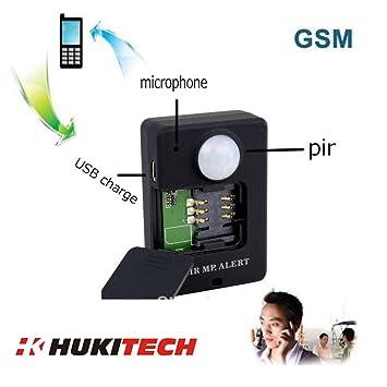 GSM Mobile Alarma con PIR Detector de movimiento y sensor de infrarrojos – Quad banda con
