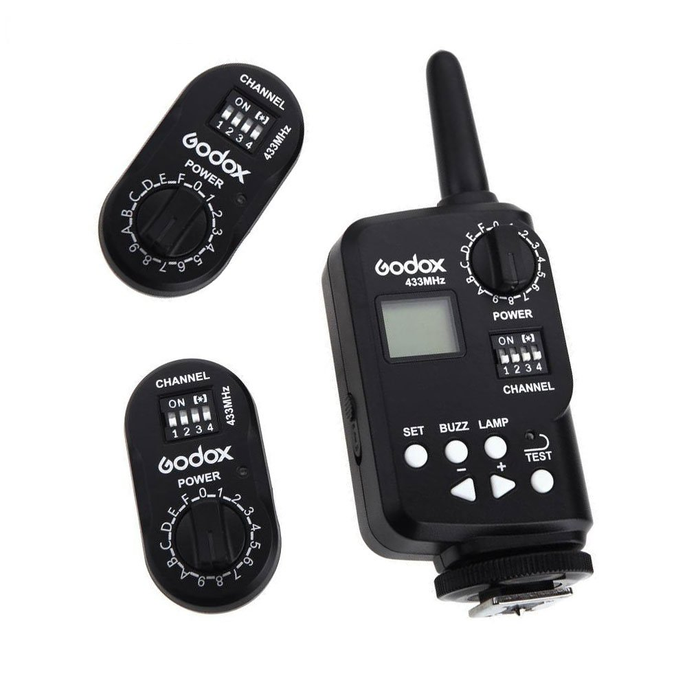 Godox FT-16 disparador 433 mhz 16 canales a distancia ...