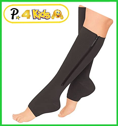 Presadee Kids Boys Girls Compression Knee High Leg Energy Recovery Socks 2 Pack