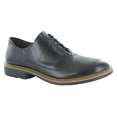 Naot Footwear Men's audience Black Madras Leather Oxford 40 (US Men's ...