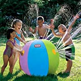 Hiltow New Thickening PVC Beach Ball Sprinkler