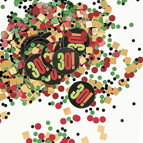 Birthday Cheer 30th Birthday Confetti