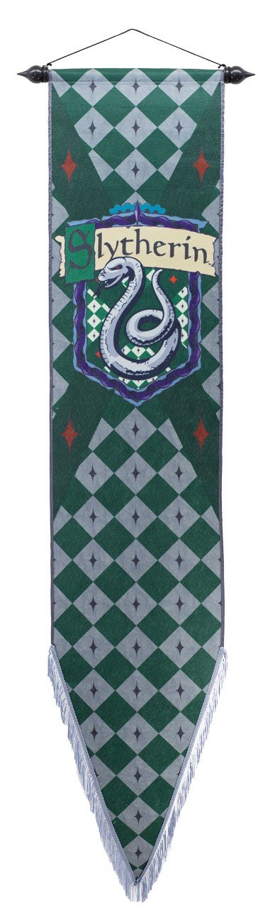 "Calhoun Harry Potter House Wall Scroll (12"" by 60"") (Slytherin)"