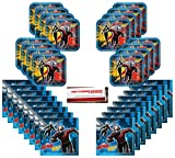 Ant-Man and The Wasp Birthday Party Supplies Bundle Pack for 16 (Plus Party Planning Checklist by Mikes Super Store)