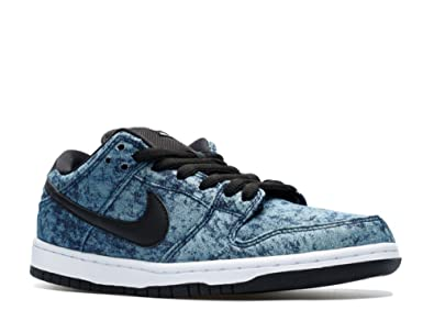 best cheap c85da 4d63b Image Unavailable. Image not available for. Color  Nike DUNK LOW PREMIUM SB  skateboarding-shoes 313170-402 5 - MIDNIGHT NAVY