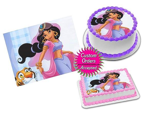 Disney Princess Edible Birthday Cake Topper 1//4 or 1//2 sheet Frosting Icing