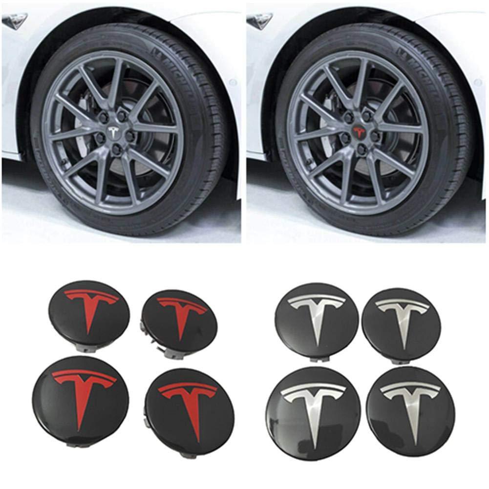 FORTEN CAR x4 Wheel Centre Caps Logo Audi 68mm Black for Audi A1 A3 A4 A5 A6 Q3 Q5 Alloy Rims Emblem Studs