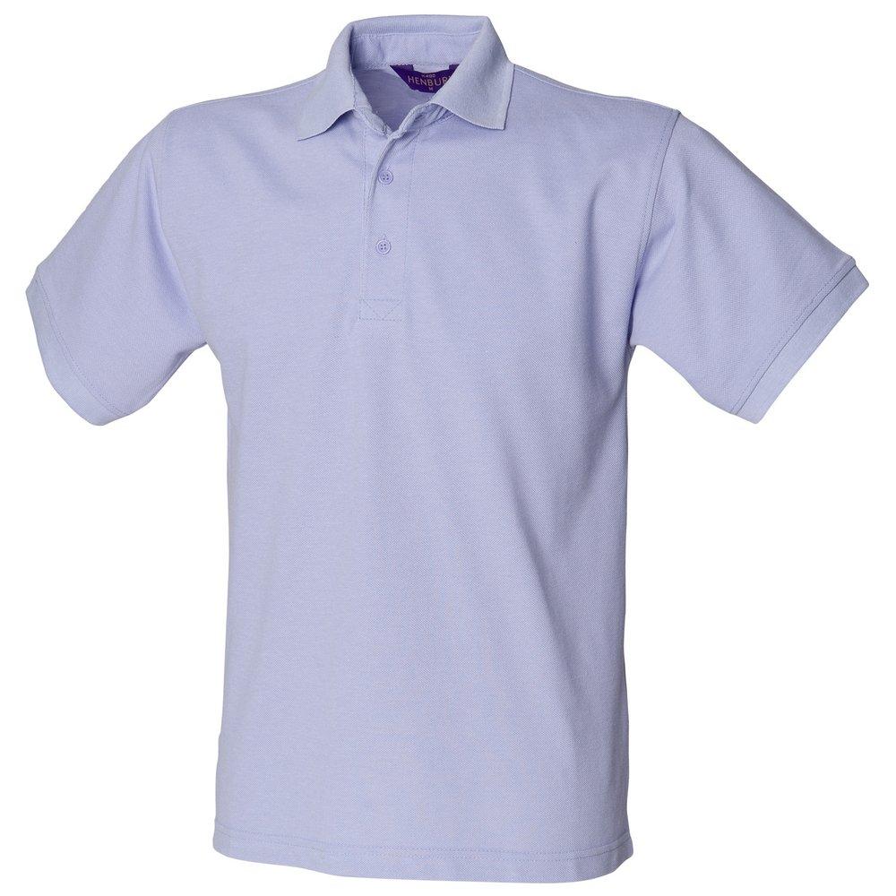 Henbury - Polo - para Hombre Azul Morado Large: Amazon.es: Ropa y ...