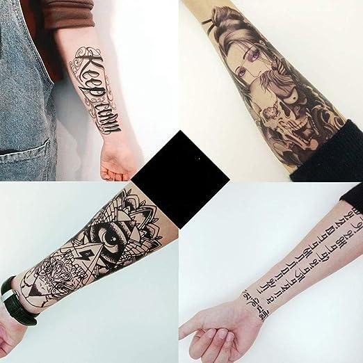 YSYYSH Pegatinas de Tatuaje Impermeable Hombres y Mujeres ...
