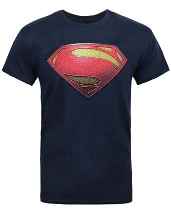 39260187 Amazon.com: DC Comics Superman Man of Steel Textured Men's T-Shirt ...