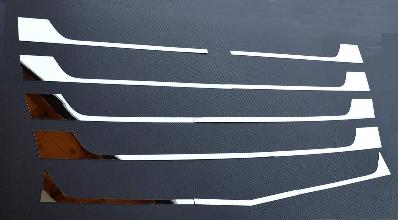 24//7Auto Copertura griglia Anteriore in Acciaio Inox Decorazioni per Camion Actros MP4 Specchio Accessorio poslished