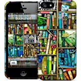 [Gelaskins] Colorful Bookshelf Apple iPhone 5 Plastic Case Cover [Anti Slip] Supports Premium High Definition Anti-Scratch Screen Protector; Durable Fashion Snap on Hard Case; Coolest Ultra Slim Case Cover for iPhone 5 Supports Apple 5 Devices From Verizon, AT&T, Sprint, and T-Mobile