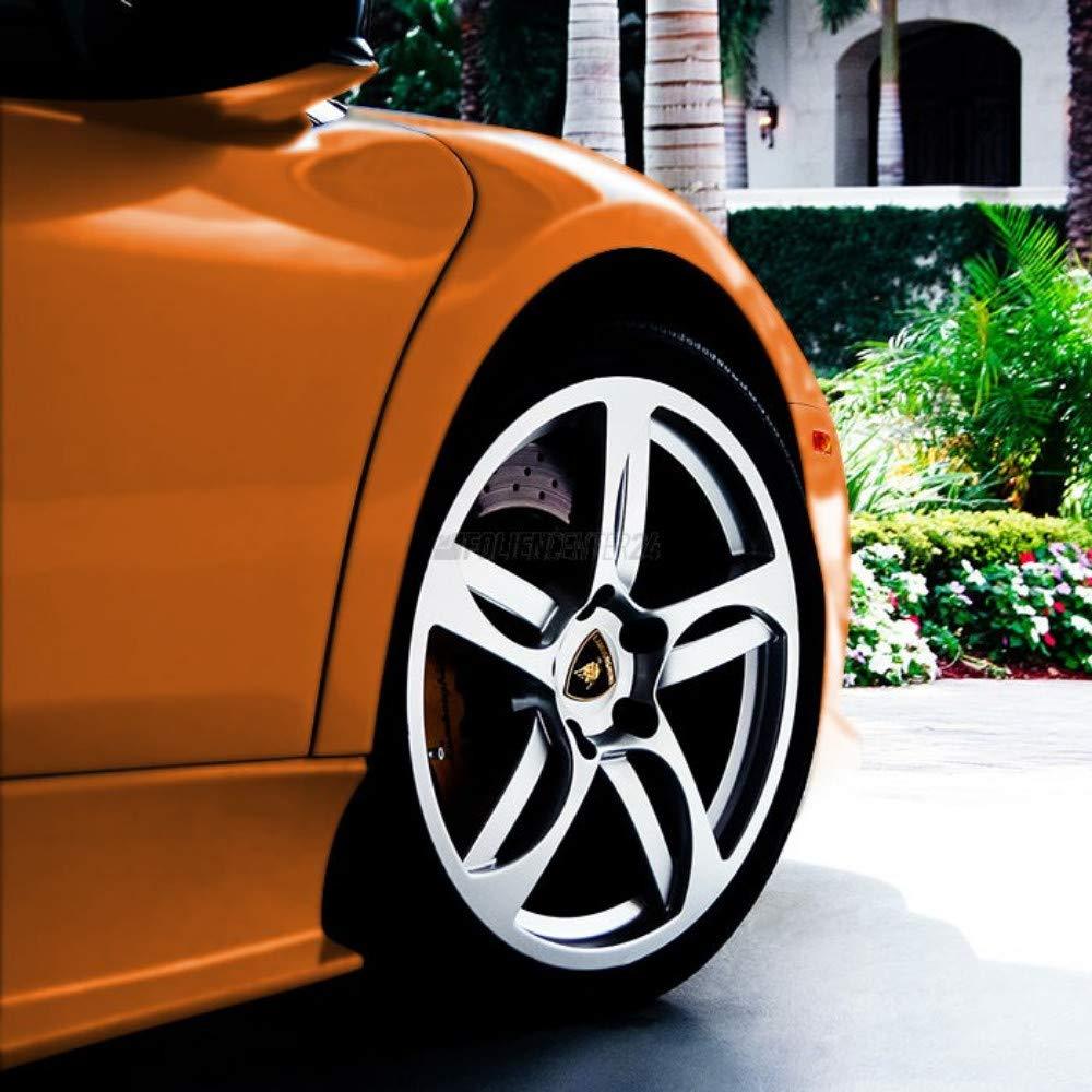 Avery SW900 Matte Blaze Orange Metallic | 371-M | Vinyl CAR WRAP Film (5ft x 1ft (5 Sq/ft)) w/Free-Style-It Pro-Wrapping Glove