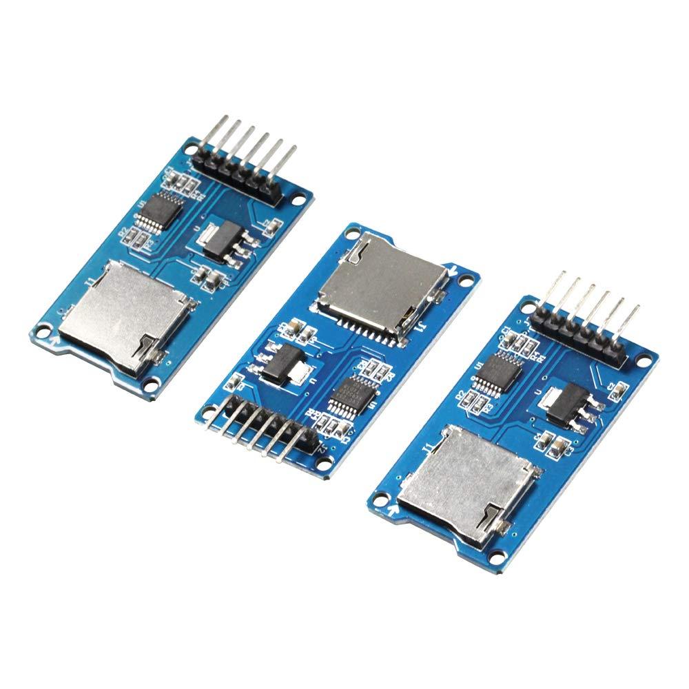 flashtree (3 pcs Micro SD TF Card Adapter Reader Module