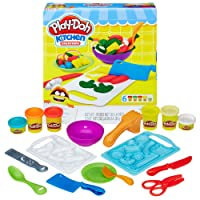 Hasbro 孩之宝 Play-Doh 培乐多彩泥 创意厨房系列 厨师工具款 B9012