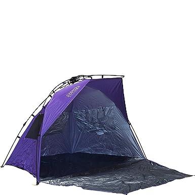 Creative Outdoors Family Size Instant Pop Up Quick Cabana Beach Tent Sun Shelter - Purple  sc 1 st  Amazon.com & Amazon.com : Creative Outdoors Family Size Instant Pop Up Quick ...