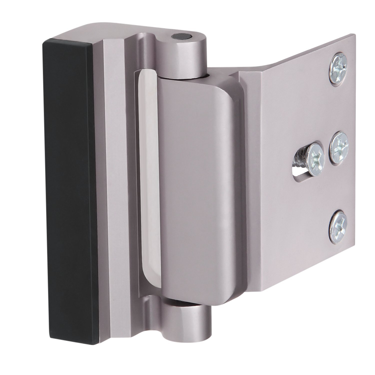 Extra High Security Door Reinforcement Lock - Protect Your Home Against Unauthorized Entry and Exit, Compatible with All Inswing Doors - by Wasserstein
