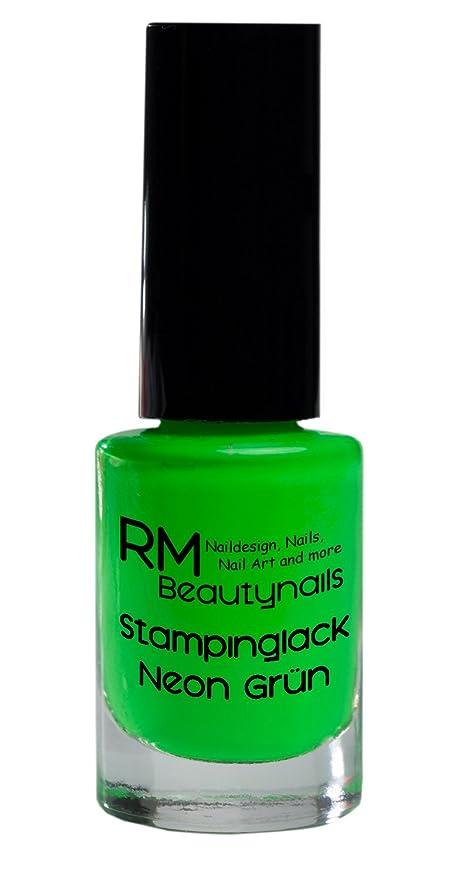 stampinglack Neon Verde 4 ml Esmaltes esmalte esmalte de uñas Nail ...