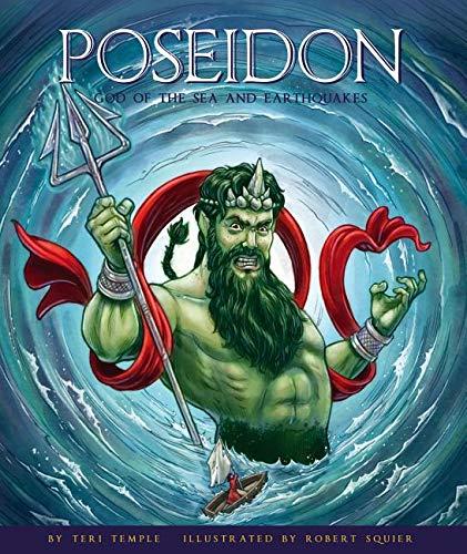Poseidon God Of The Sea And Earthquakes Greek Gods And