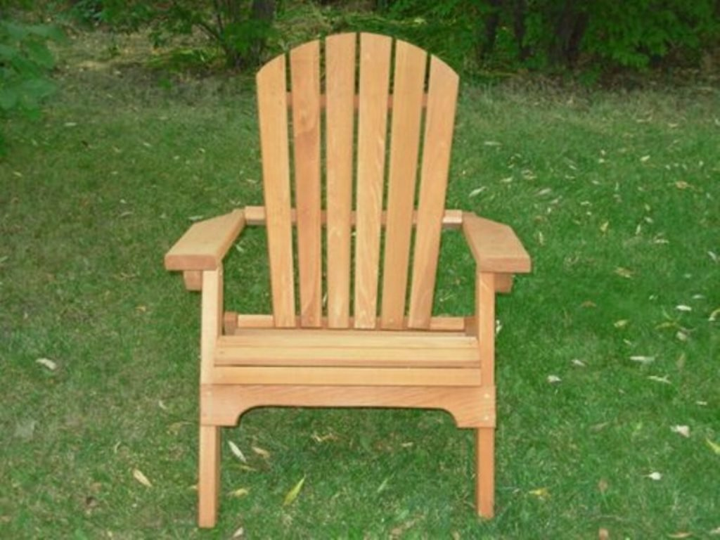 Amazon.com : Folding Cedar Adirondack Chair, Amish Crafted : Adorandak Chair  : Garden U0026 Outdoor