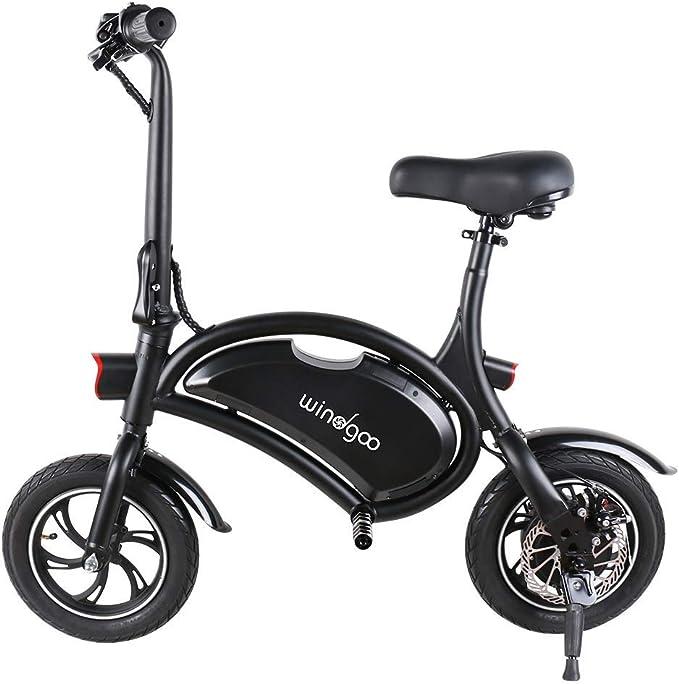Windgoo Bicicleta eléctrica Plegable Ruedas de 12