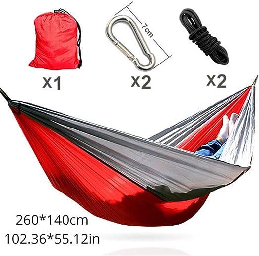 IN THE DISTANCE Camping Hammockhammock 260 * 140Cm El Mejor Precio para España Envío estándar Gratuito de Aliexpress Entrega rápida de mercancías 13~17 días, I: Amazon.es: Jardín