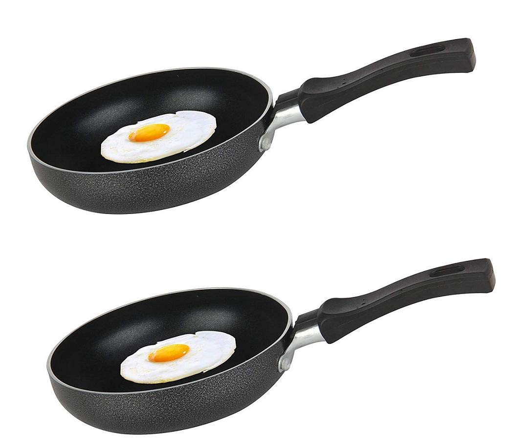 "Heavy Duty Non-Stick Egg Wonder 4.75/"" One Egg Fry Pan"