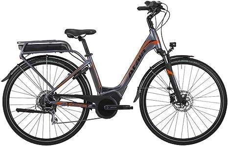 ATALA - Bicicleta eléctrica B-Easy SL Ltd, 28, 8 V, M.45, motor Bosch, color antracita - naranja: Amazon.es: Deportes y aire libre