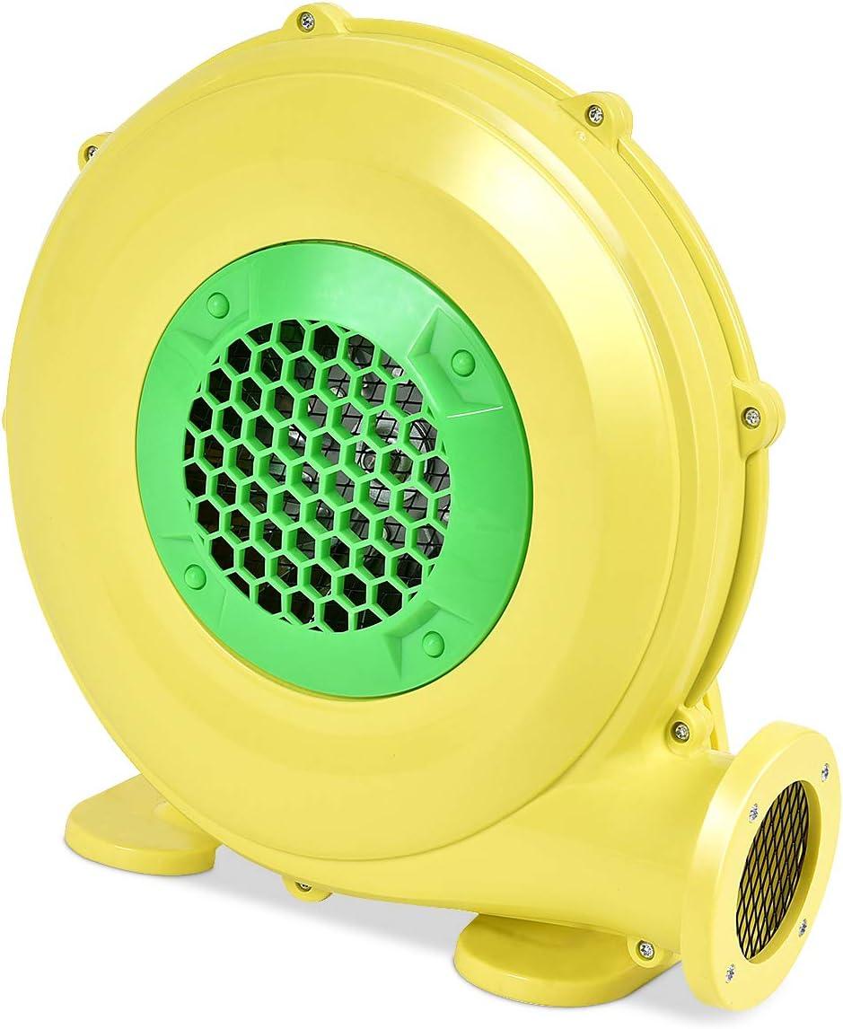 Jaune Goplus Pompe Electrique Gonflable de Ventilateur d/'Air de Ch/âteau Gonflable Souffleur Electrique avec Moteur