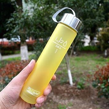 H2O plástico deportes botella de agua – respetuoso con el medio ambiente y BPA-free