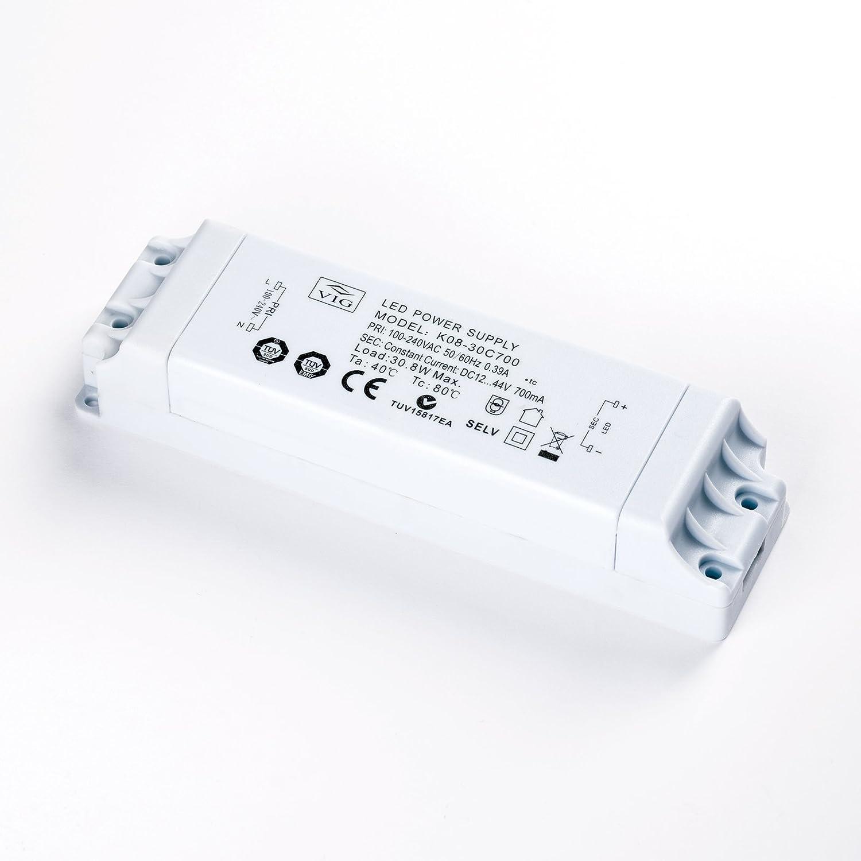 VIG  LED Driver K08-30C700 12-44V 700mA 30W Treiber Trafo Transformator