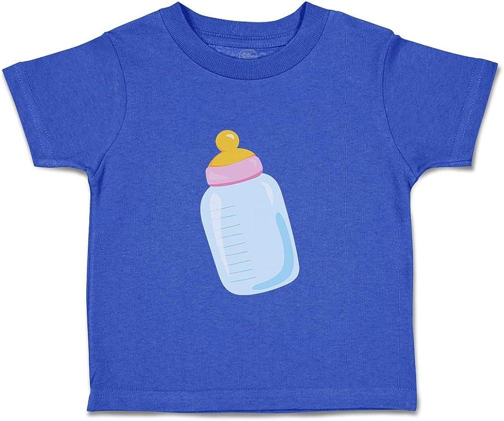 Custom Baby /& Toddler T-Shirt Baby Bottle Girl Cotton Boy Girl Clothes