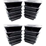 Kabalo 20 Pack Premium Stackable Microwave Re-Usable Lunchbox Food Container Meal Boxes