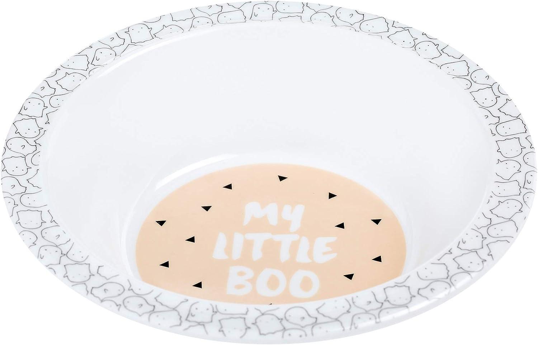 L/ässig M/élamine Assiette champignon magenta