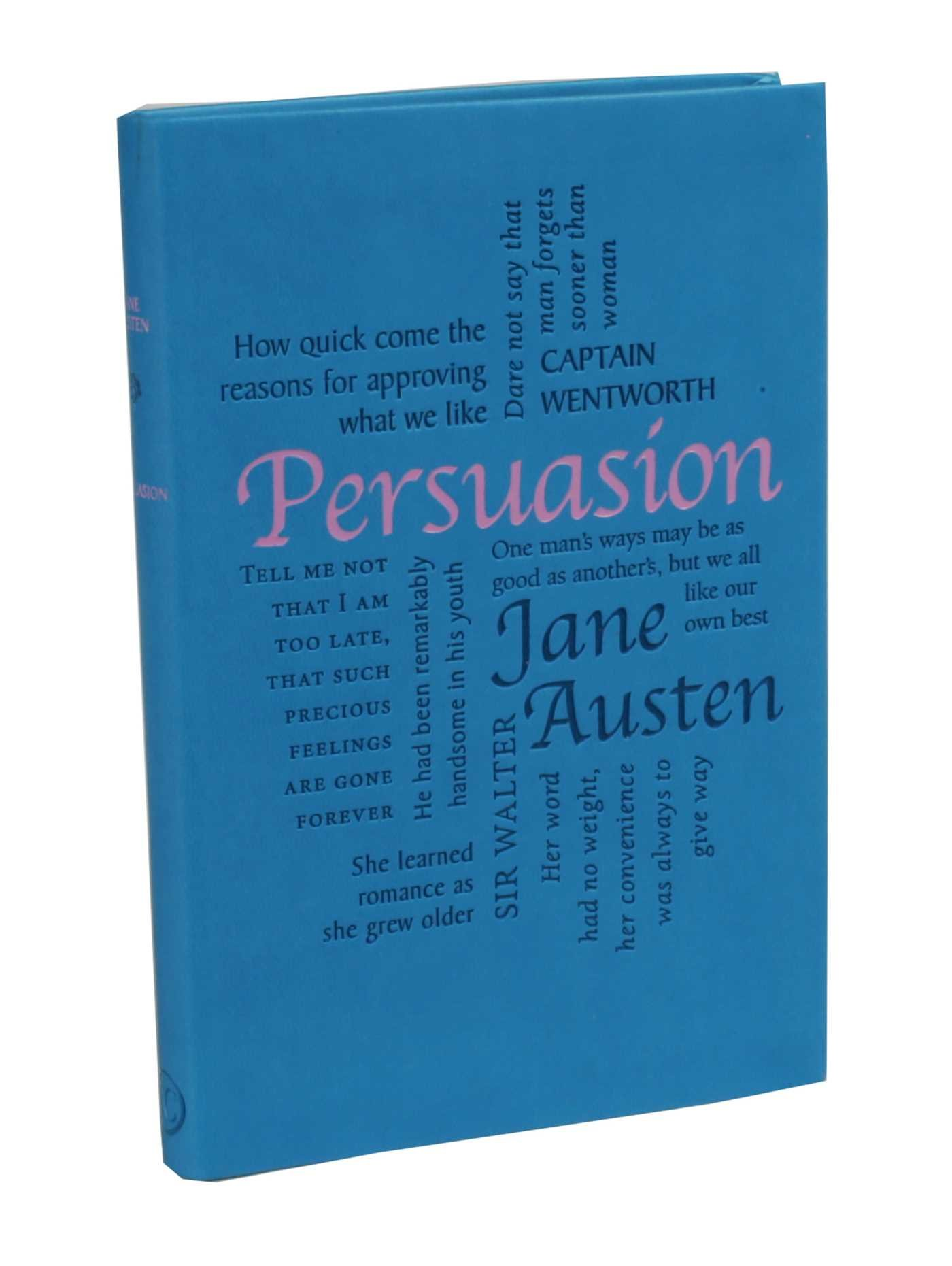 Read Online Persuasion (Word Cloud Classics) PDF ePub fb2 book