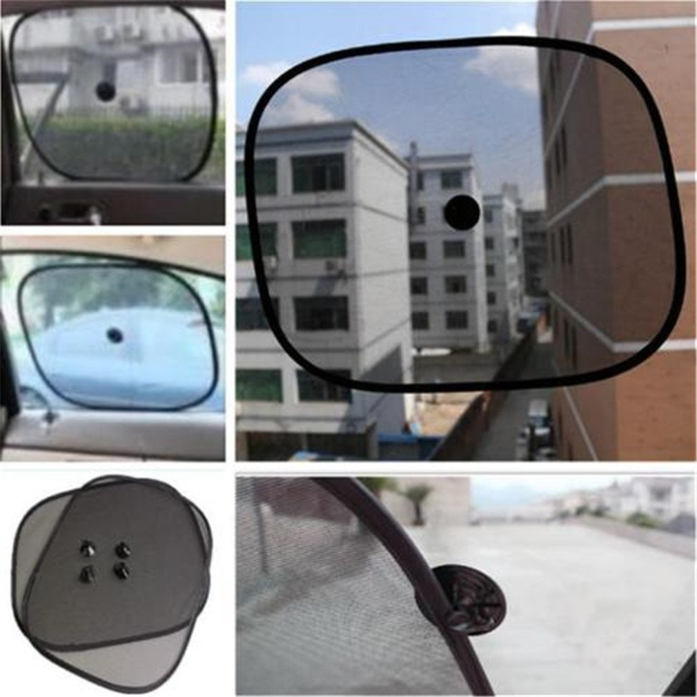 HENGSONG 2pcs Auto Sun Shades Car Window Mesh UV Protection Blind Safety Baby Sunshade mei_mei9