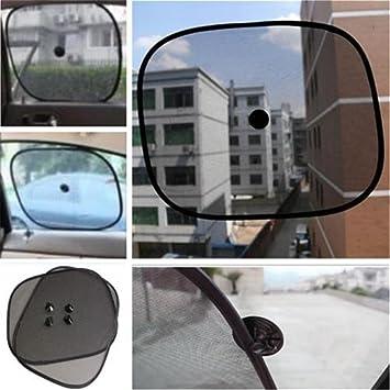 Blocks Harmful UV Rays Sun Glare Heat Pets Black Gemini/_mall/® 2pcs Car Window Sun Shades Universal Baby Car Sunshades Protection for Your Kids