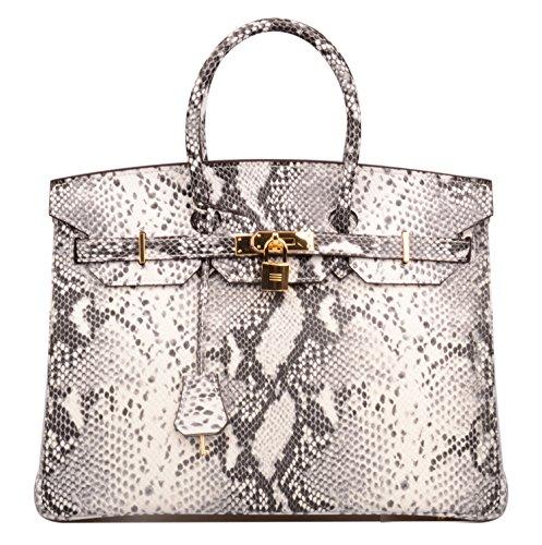Snake Skin Handbag - 1