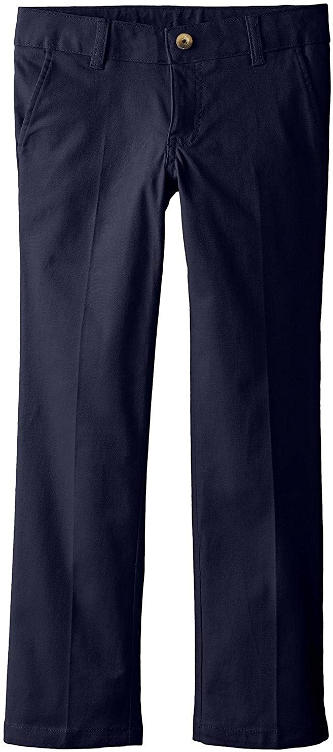 French Toast School Uniform Girls Stretch Twill Straight Leg Pants